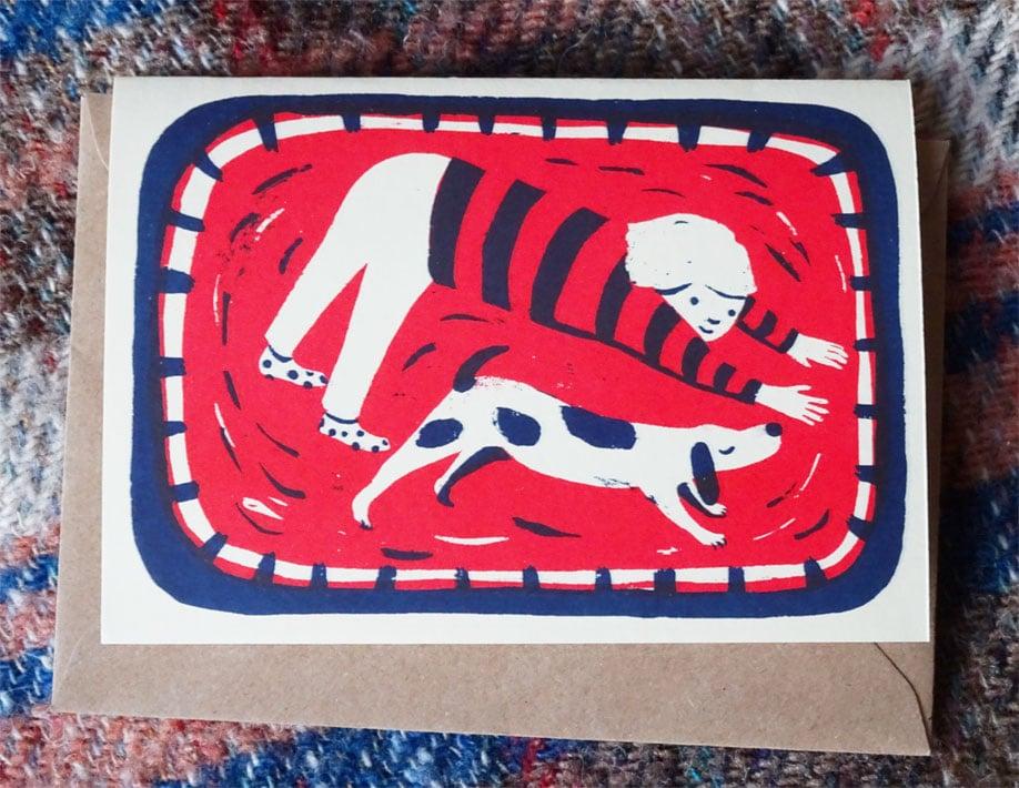 Image of Card: Downward Dog