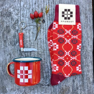 Image of fforest cotton socks essential gift set