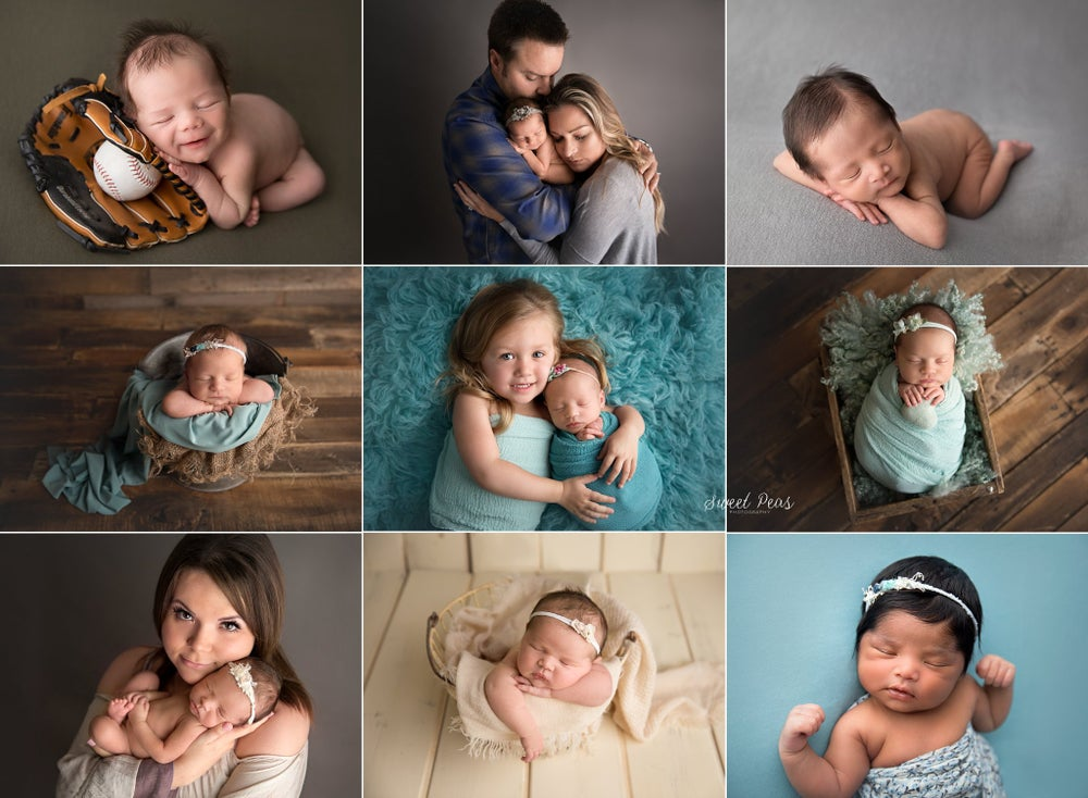 Image of 2019 Newborn Session Retainer Fee (includes FREE mini sitter session)
