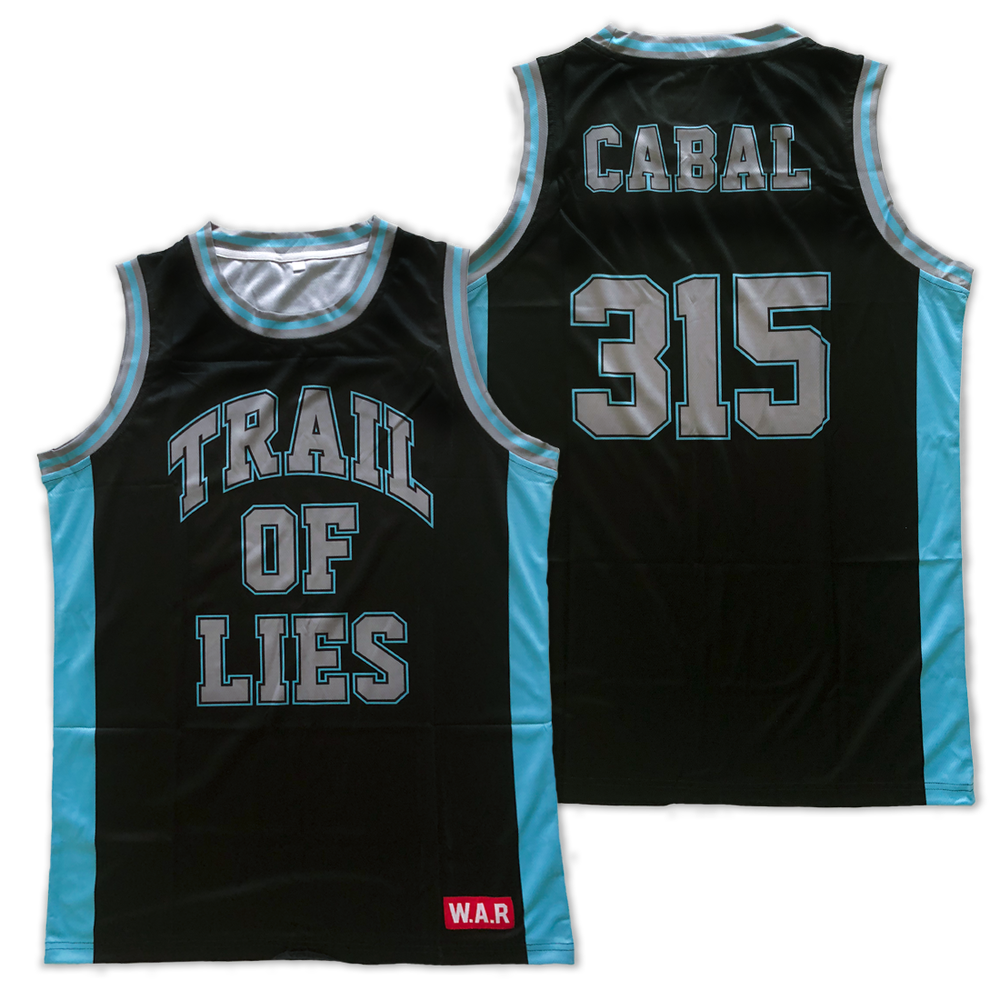 Image of TRAIL OF LIES x CABAL Basketball Jersey