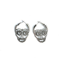 Image of Skull hoops