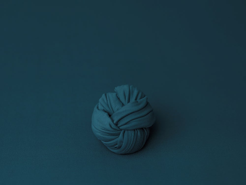 Image of Teal BabyPlush Wrap