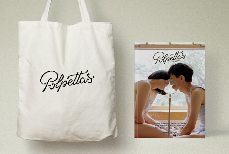 Image of Polpettas On Paper #3 + Tote Bag