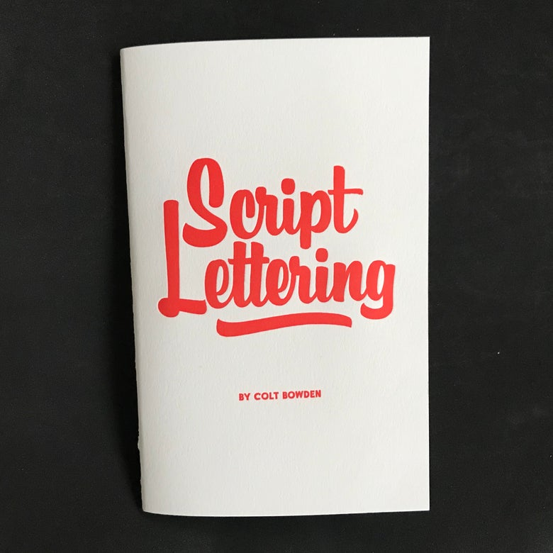 Image of Script Lettering Book