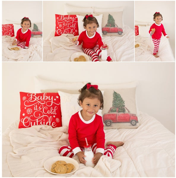 Image of Holiday Pajama Milk & Cookie Mini Sessions