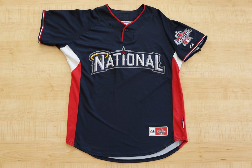 Image of 2010 MLB All Star Game National League Majestic Jersey Sz.M