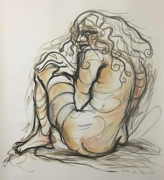 Image of Striking Woman