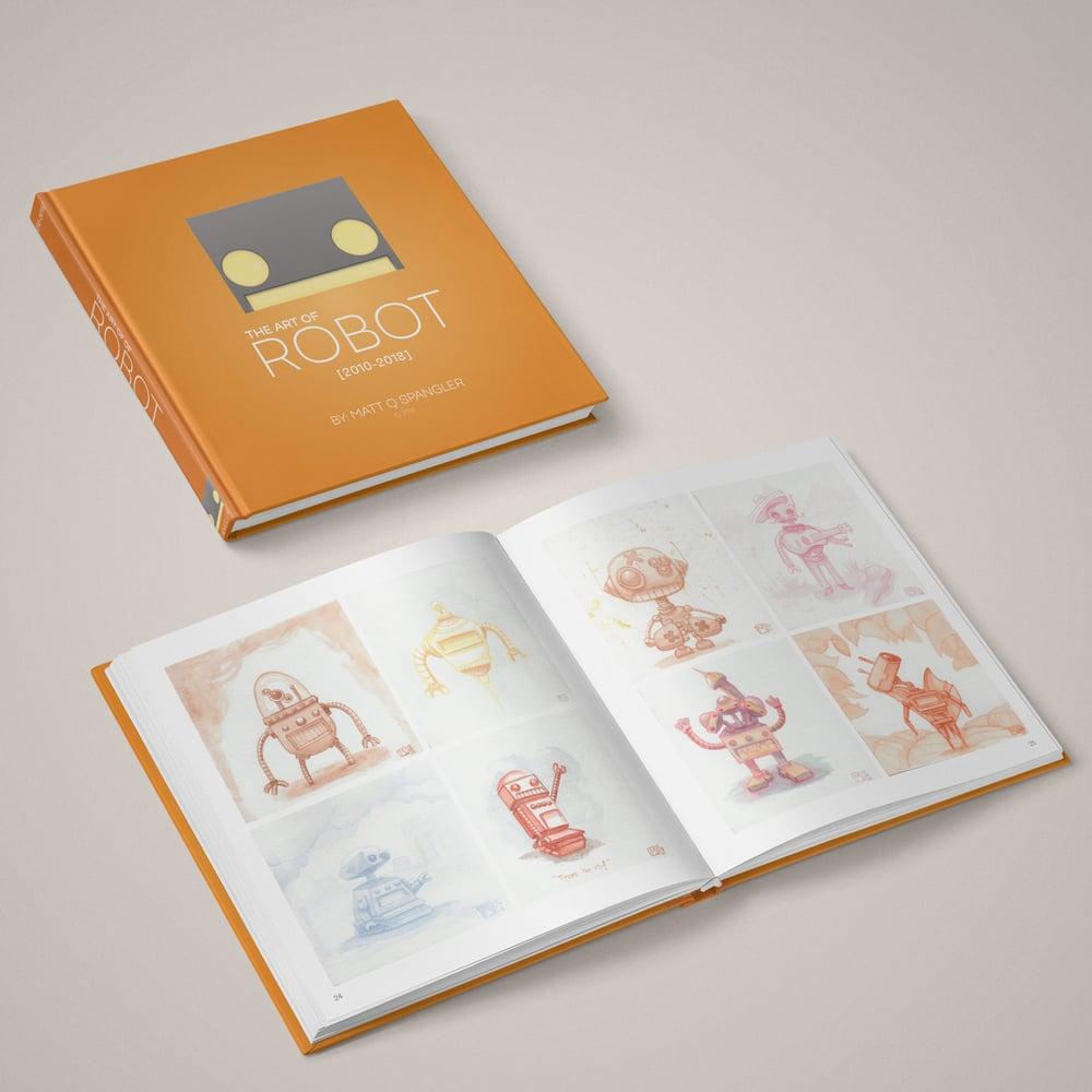 Image of The Art of Robot, art book - 2010-2018