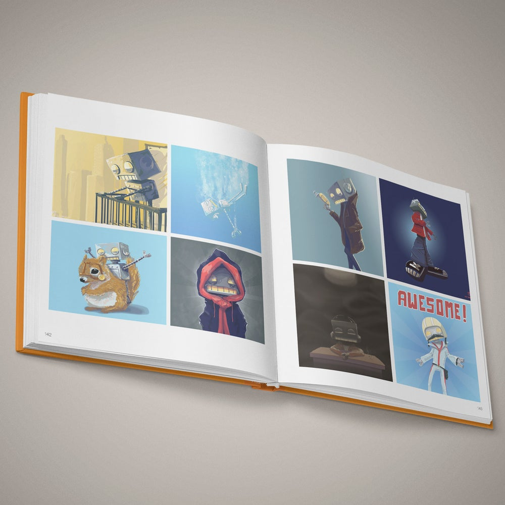 Image of The Art of Robot, art book - 2010-2018