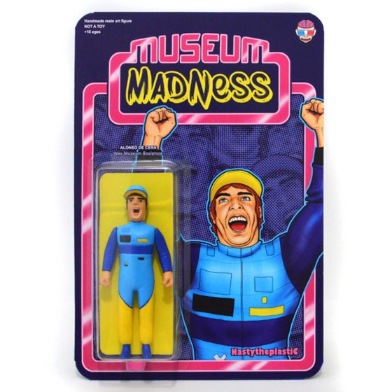 Image of MUSEUM MADNESS - ALONSO DE CERA Wax Museum sculpture