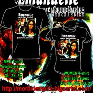 Image of Emanuelle and the Last Cannibals T-shirt