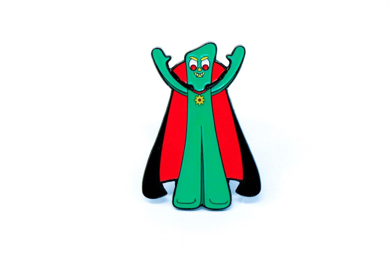 Image of Halloween Gumby Enamel Pin