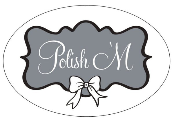 Image of Polish 'M Sticker 5x3 Large