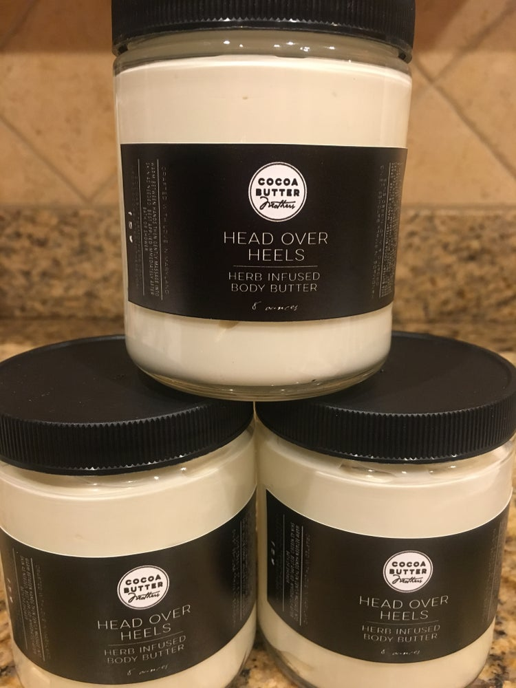 Image of 8oz Head Over Heels Herb Infused Body Butter