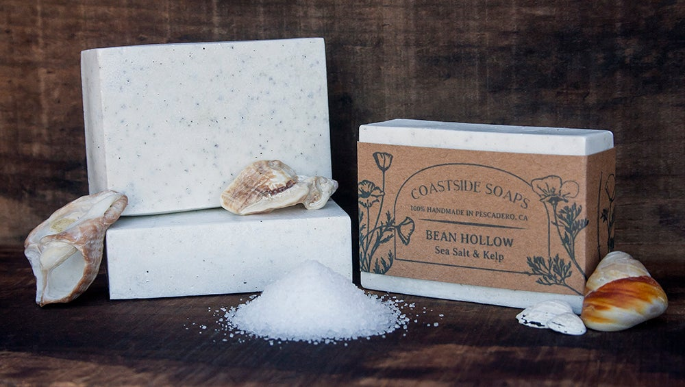 Image of Bean Hollow Bar - All Natural Sea Salt & Kelp Soap