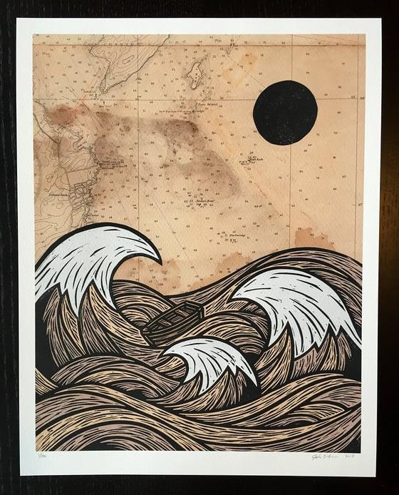 Image of The Angry Sea