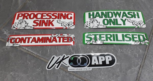 Image of UKAPP Sticker Pack