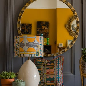 Image of Curve Mustard Lampshade