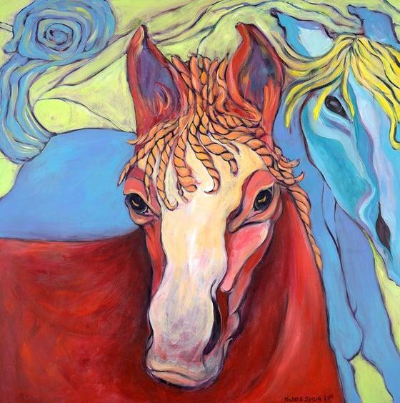 Image of 2 Horses
