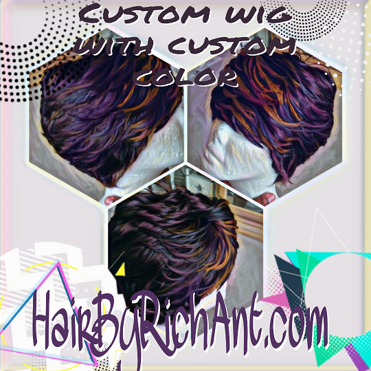 Image of Custom short wig (reserved for Pam)