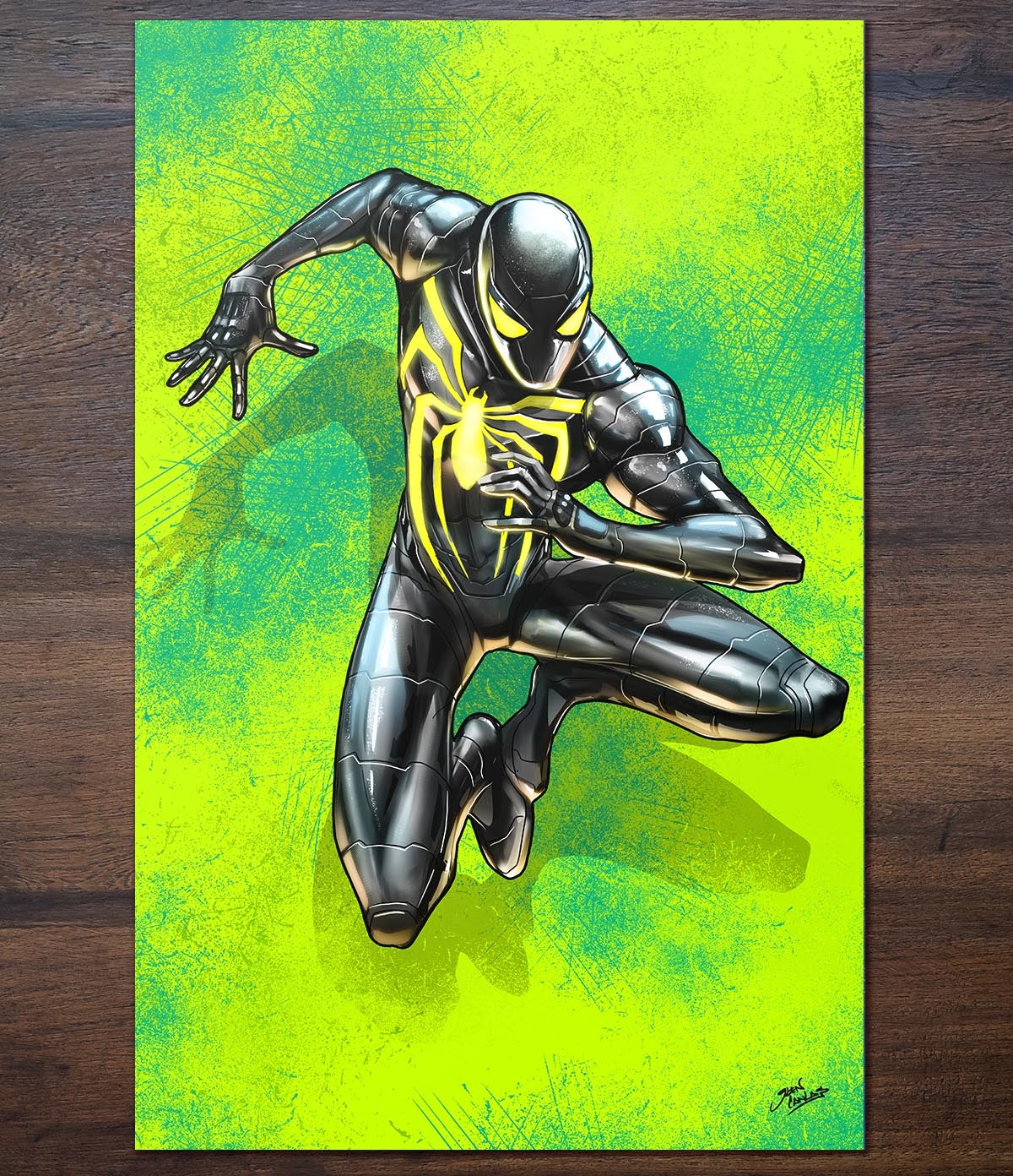 Image of Spider-Man Anti-Ock Suit