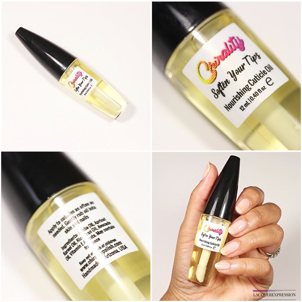 Image of Soften Your Tips - Nourishing Cuticle Oil