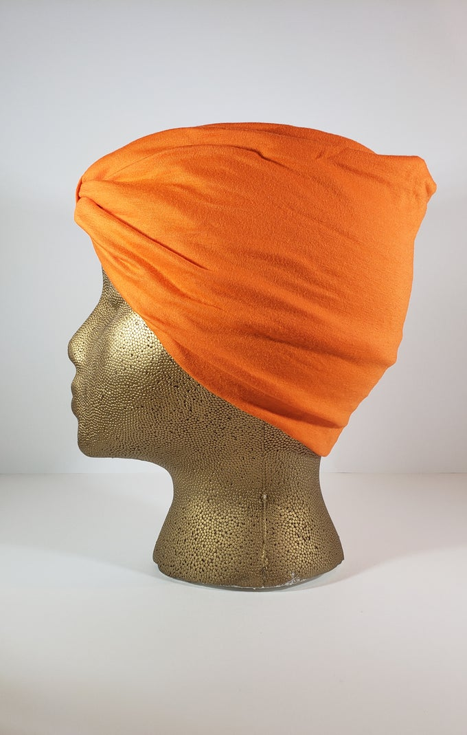 Image of Orange Hair Wrap