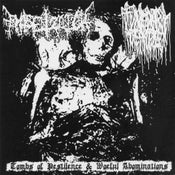"Image of Entsetzlich / Funerary Temple ‎– Split 7"" EP"