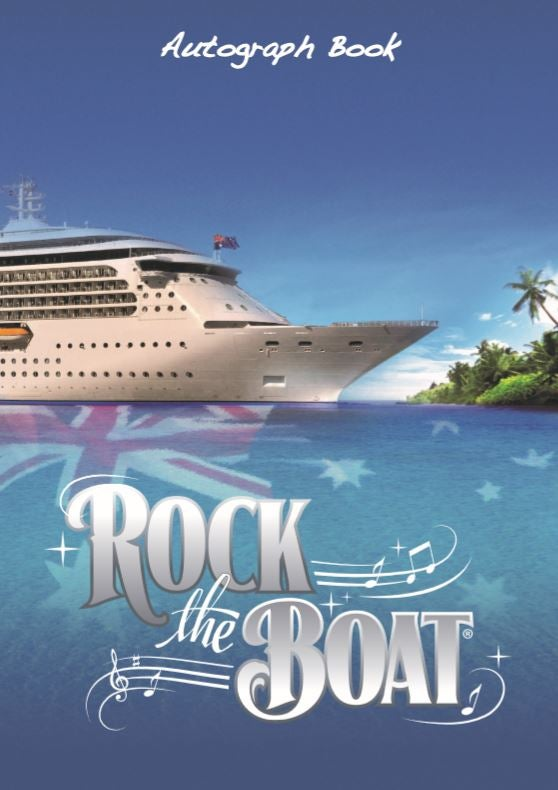 Image of Rock the Boat Autograph Book - Ship Design