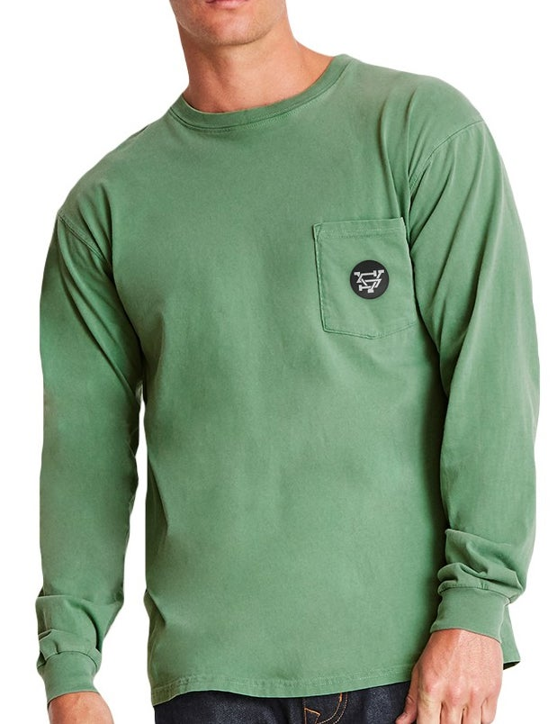 Image of VS Badge Long Sleeve Pocket Shirt