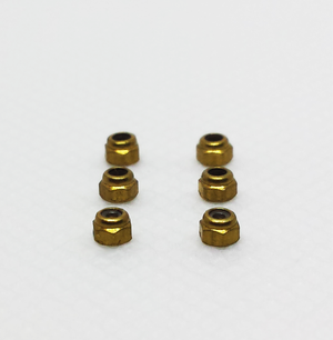 Image of LOCKNUTS (Stainless & Brass)