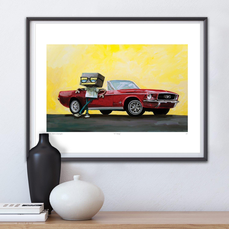 Image of 67' Stang Print