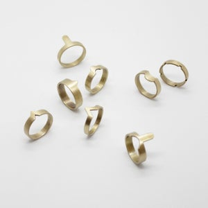 Image of COUNTER PUZZLE RINGS