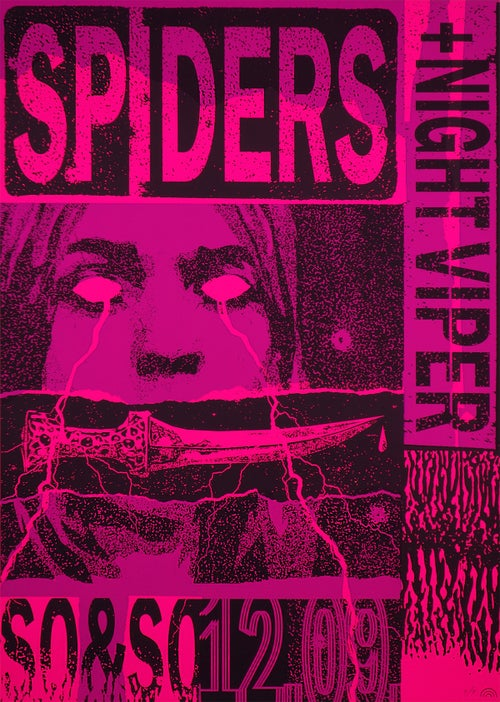 Image of SPIDERS / NIGHT VIPER