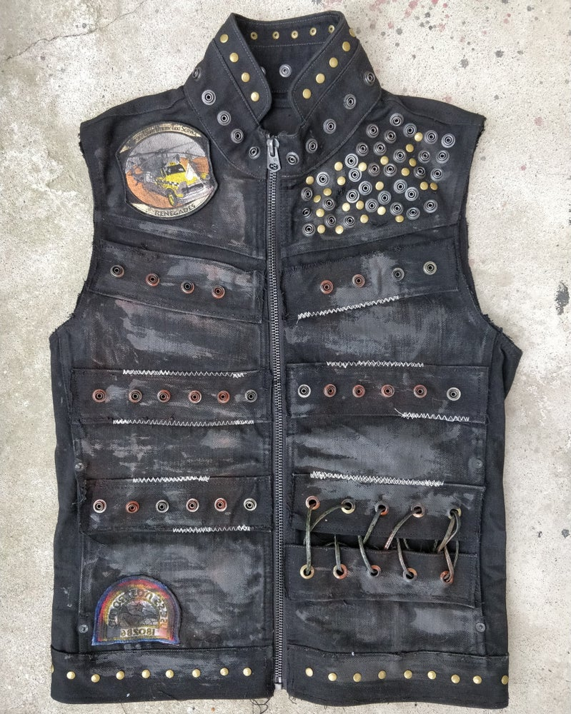Image of Metal Wax Vest