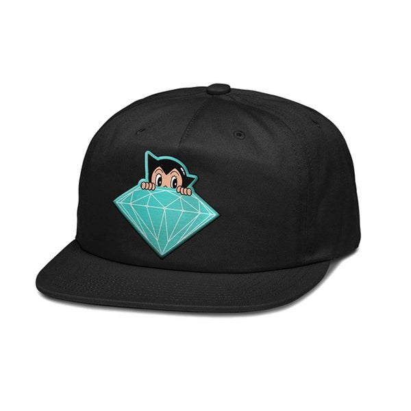 Image of Diamond Supply Co x Astro Boy Cap Black