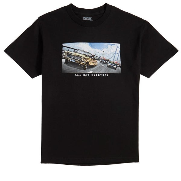 Image of DGK Cruisin T-Shirt Black