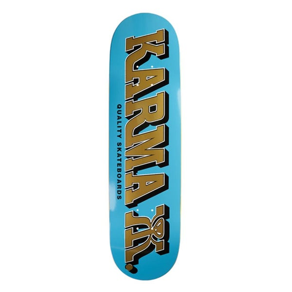 Image of KARMA KILZA SERIES BLUE DECK 7.75""