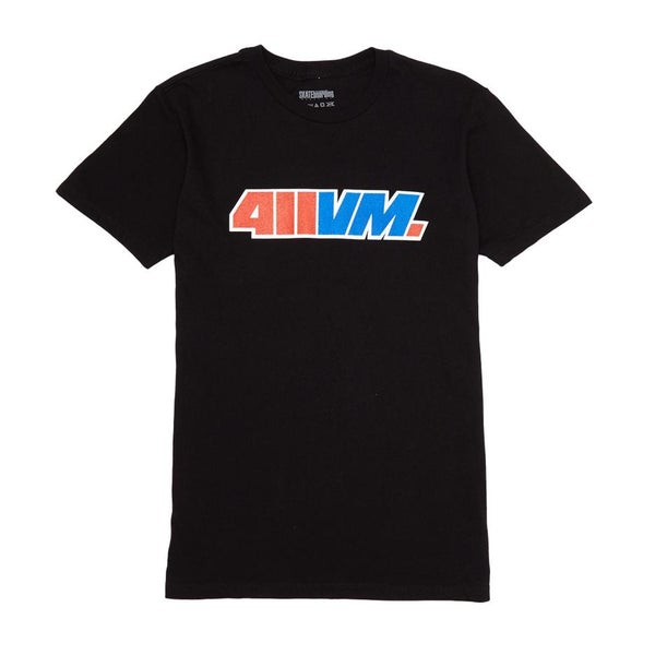 Image of TRANSWORLD 411VM ISSUE 30 TSHIRT BLACK