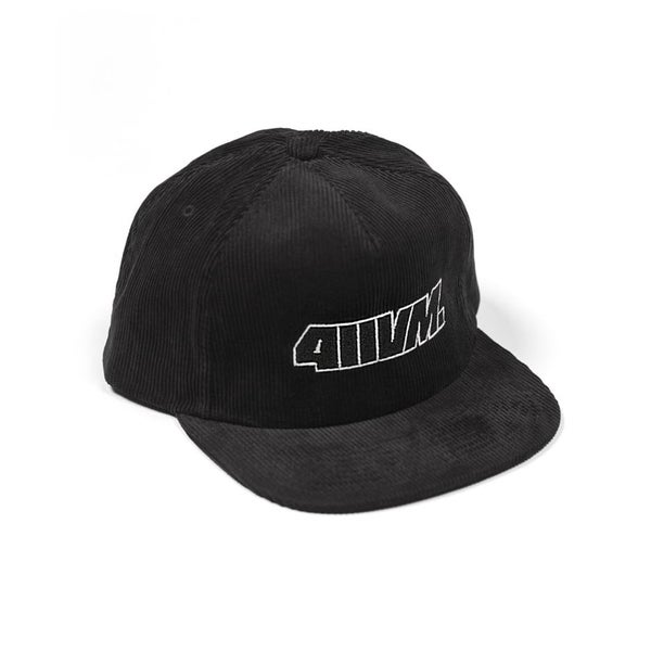 Image of TRANSWORLD 411VM ISSUE 30 CAP CORDUROY BLACK
