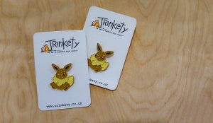 Image of Eevee - Pin Badge