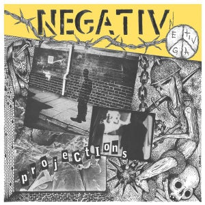 "Image of Negativ - Projections 12"" (Sabotage)"