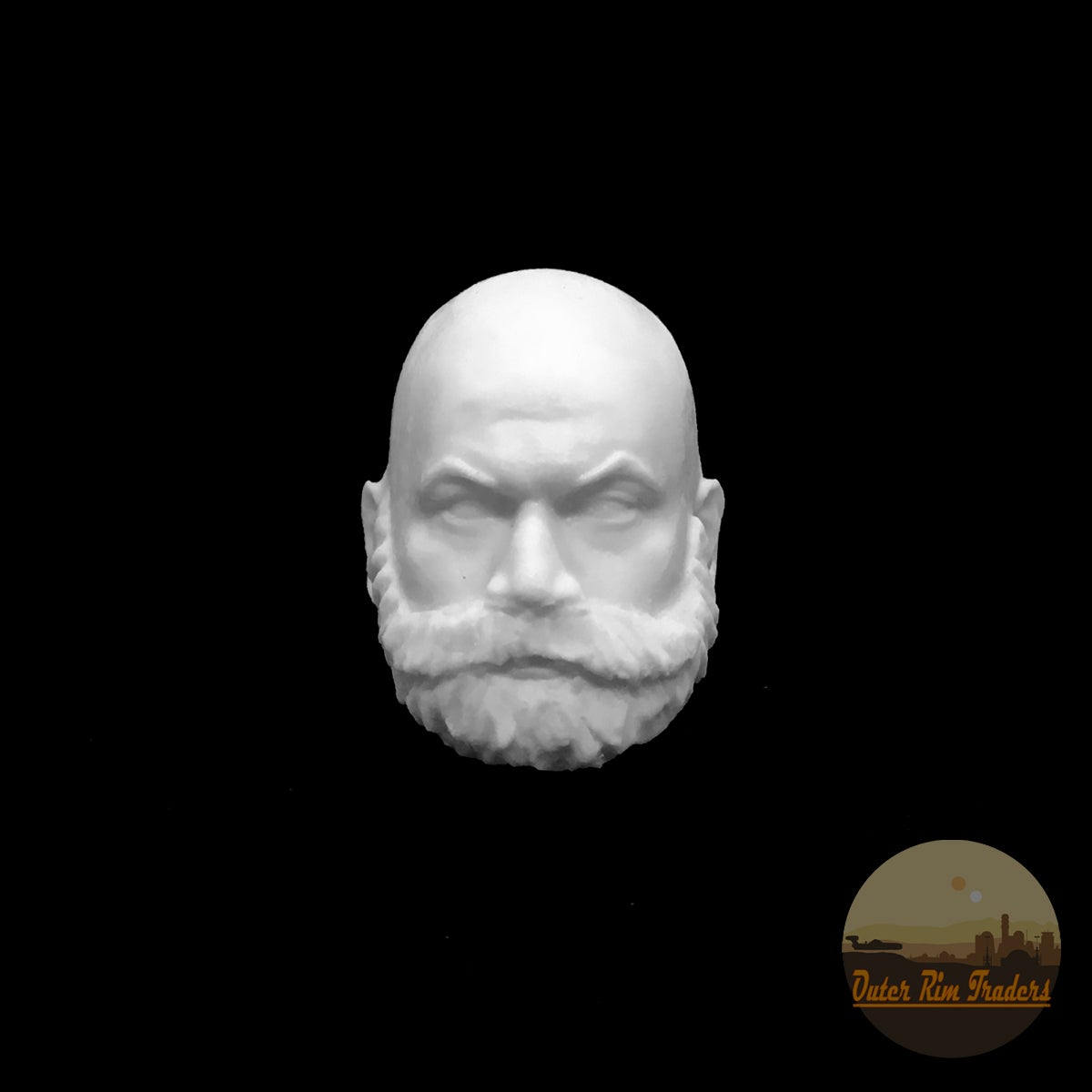 Image of Bald with Beard by Atom Howler