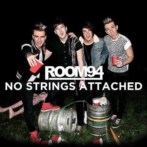 Image of ROOM 94 No Strings Attched CD
