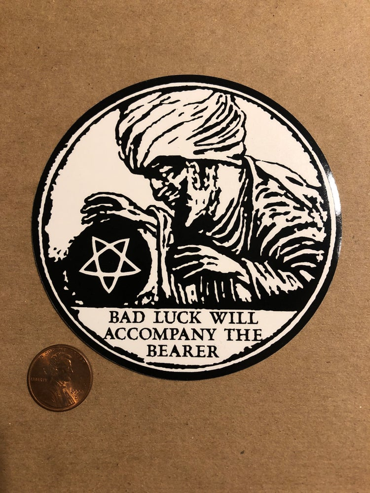 Image of Bad Luck Sticker