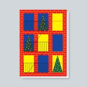 Image of Brooklyn Christmas Window card
