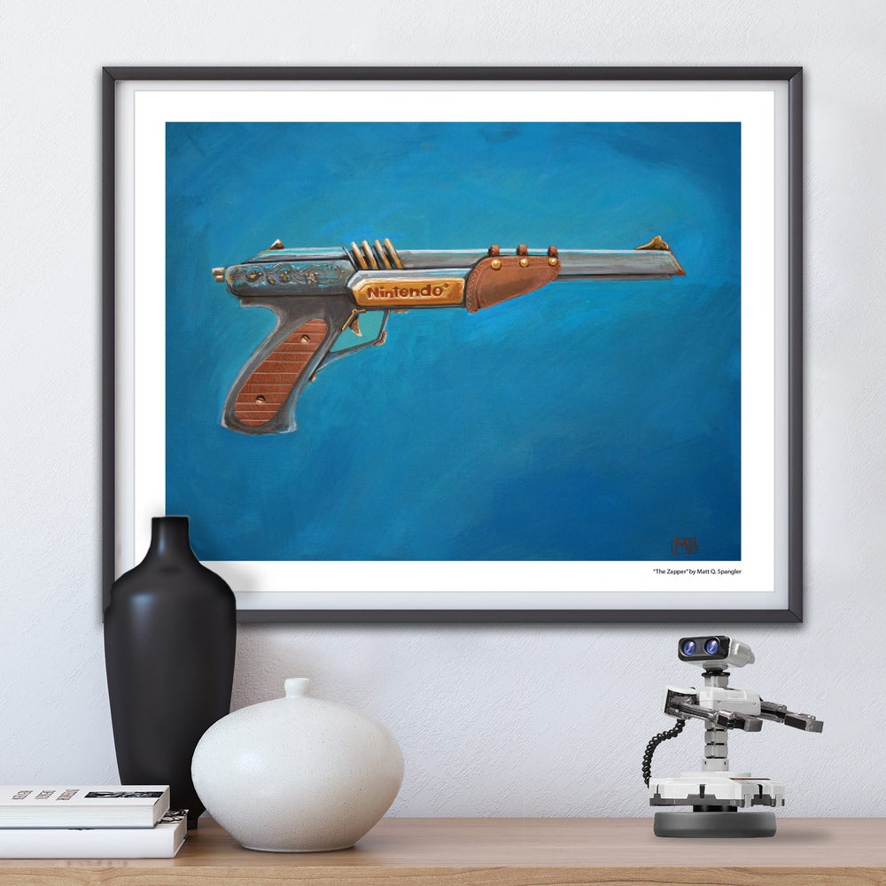 Image of The Zapper Print
