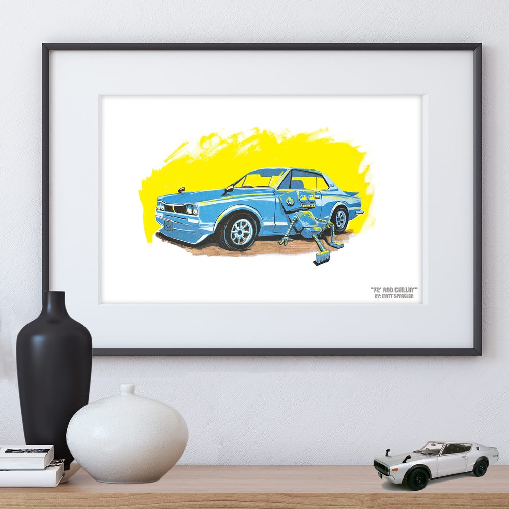 Image of 72' and Chillin' Print