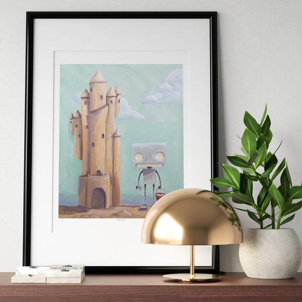 My Castle Print - Matt Q. Spangler Illustration