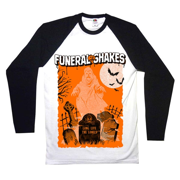 Image of Halloween Special Baseball Shirt - PRE-ORDER AVAILABLE NOW